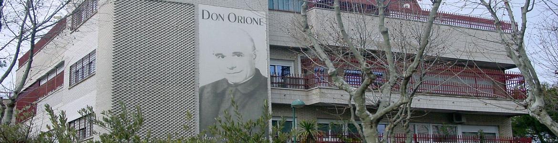 Fachada del Hogar Don Orione