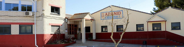 Fachada del Hogar Residencia I APANID