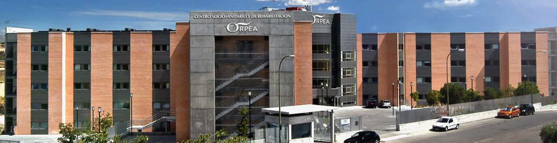 Fachada del Centro Residencial Ecoplar Mirasierra - ORPEA