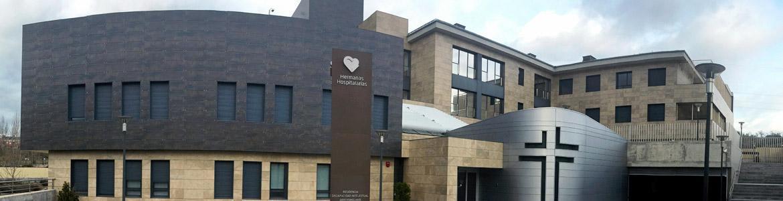 Fachada del Centro Residencial Arroyomolinos-Hermanas Hospitalarias