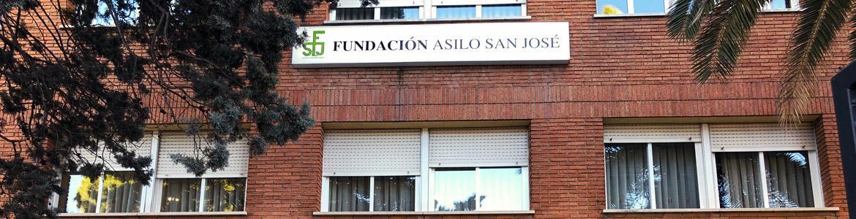 Fachada del Centro Residencial Fundación Asilo San José