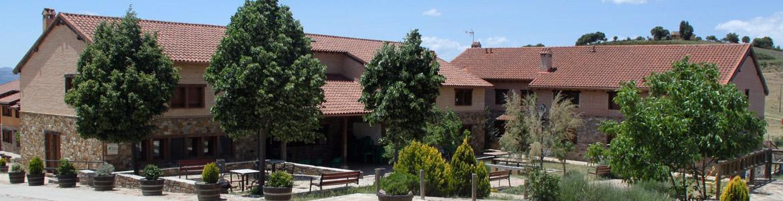 Fachada de la Residencia municipal San Roque para personas con discapacidad intelectual de Berzosa de Lozoya