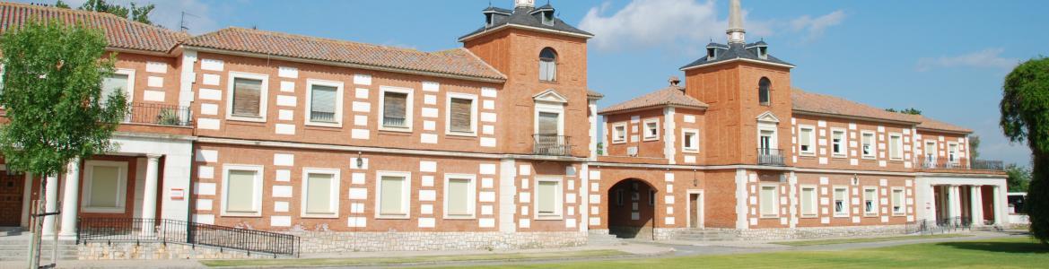 Edificio de investigación agroalimentaria en la finca El Encín