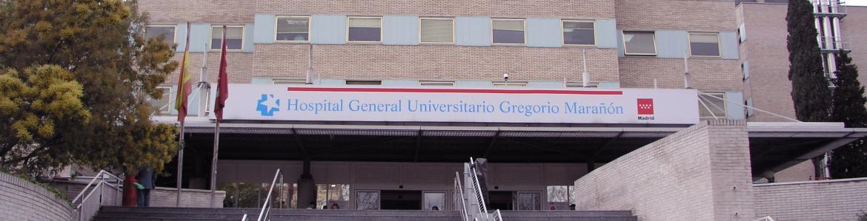 Fachada del Hospital Gregorio Marañón (Madrid)