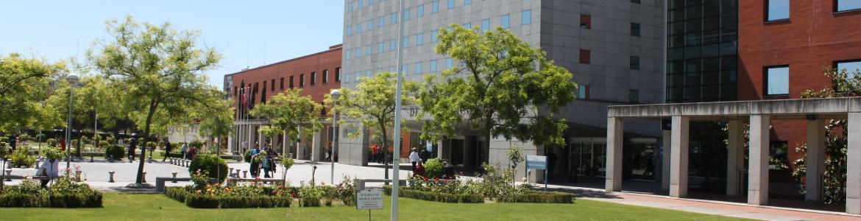 Fachada del hospital Fundación Alcorcón