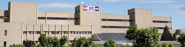 foto del hospital de Getafe