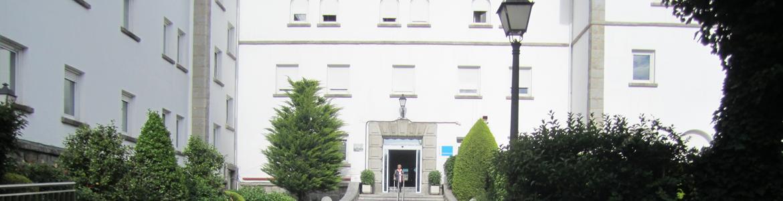 foto del exterior del hospital de Guadarrama