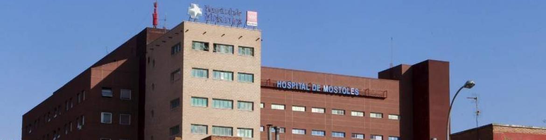 fachada hospital de Móstoles
