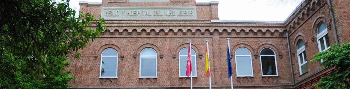 Fachada del hospital Niño Jesús