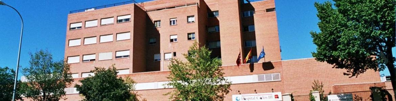 imagen de la fachada principal del Hospital Carlos III de Madrid