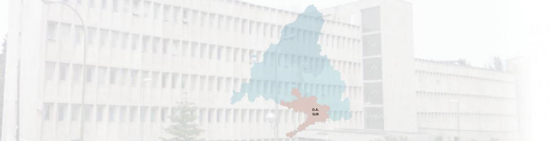 imagen de un edificio con el mapa de la DA Sur superpuesto