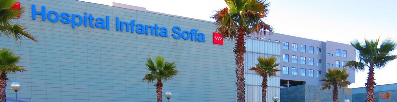 Foto del exterior del Hospital Infanta Sofía