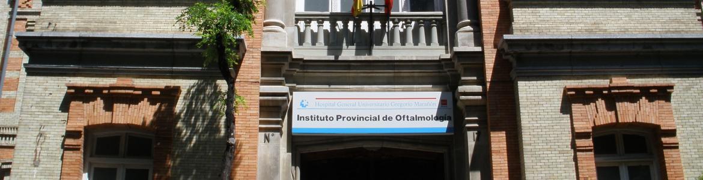 Fachada del Instituto Provincial de Oftalmología de Madrid