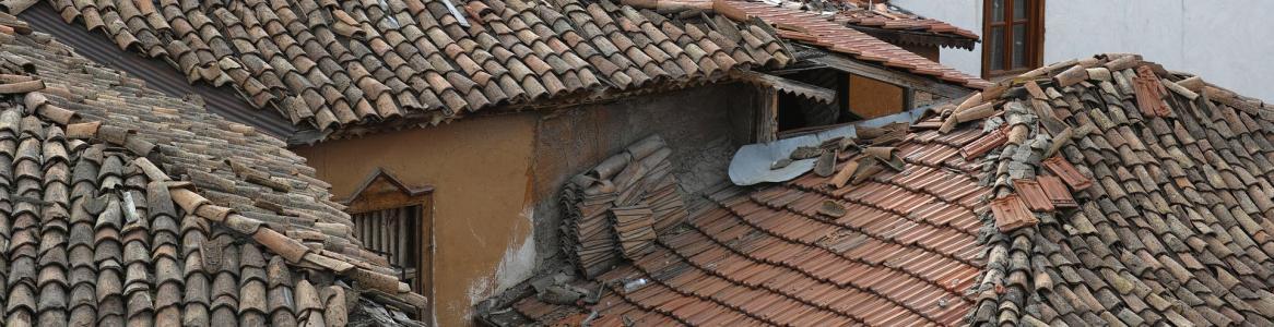 Imagen de tejados rojos