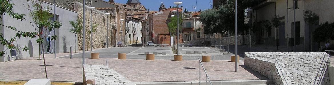 Imagen de la Plaza del Zacatín en Colmenar de Oreja