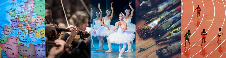 Bailarines de danza clásica