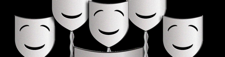 Imagen máscaras de teatro