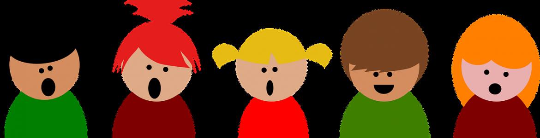 Imagen coro de niños