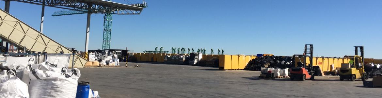 Instalaciones para gestión de residuos