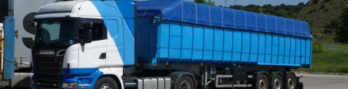 Camión Azul