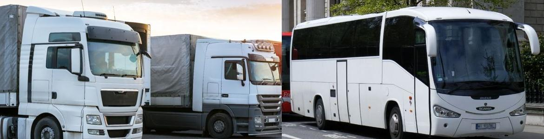 camión y autobús