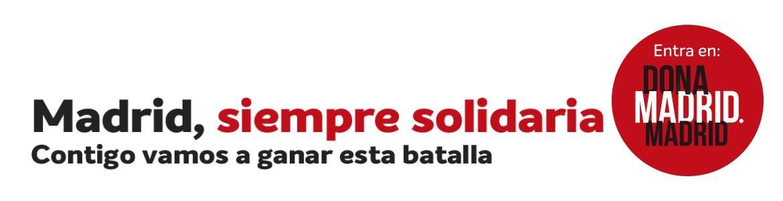 Madrid siempres solidaria COVID19