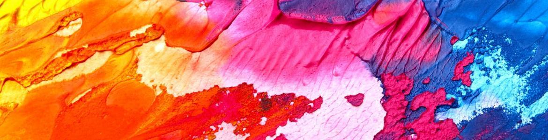 Imagen de paleta de colores al oleo