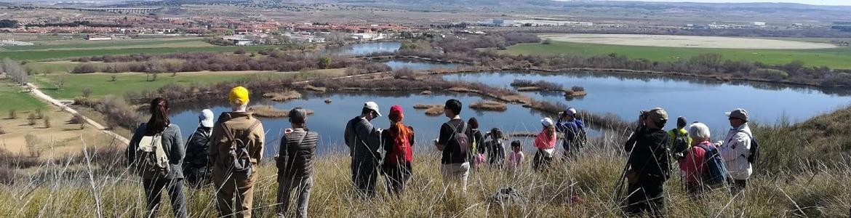 Senda de Los Espartales en Rivas-Vaciamadrid