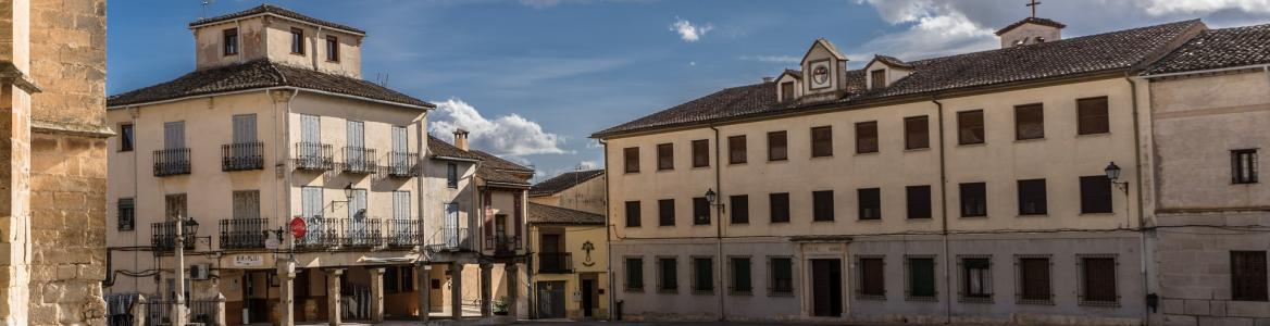 Imagen de la plaza de Torrelaguna