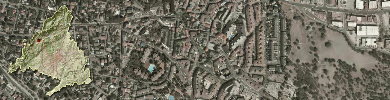 Vista aérea de Alpedrete