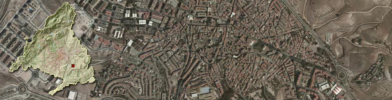 vista aérea de Arganda del Rey