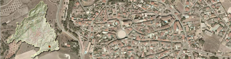 Vista aérea de Belmonte de Tajo