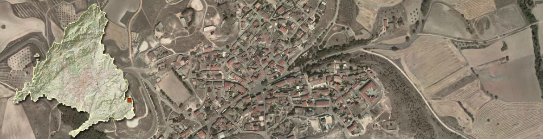 Vista aérea de Brea de Tajo