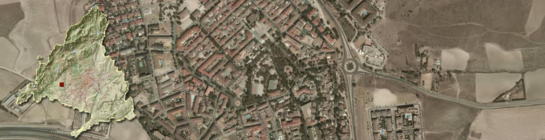 Vista aérea de Brunete