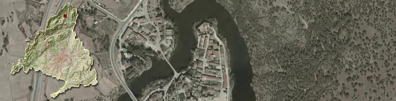 Vista aérea de Buitrago del Lozoya