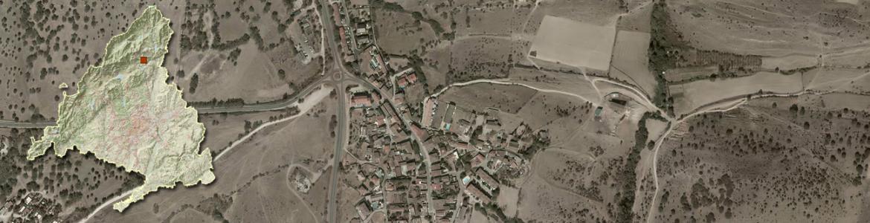 Vista aérea de Cabanillas de la Sierra