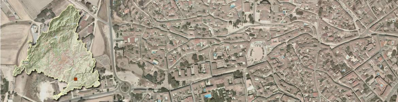 Vista aérea de Chinchón