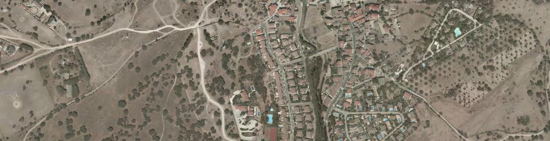 Vista aérea de Colmenar del Arroyo