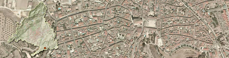 Vista aérea de Colmenar de Oreja