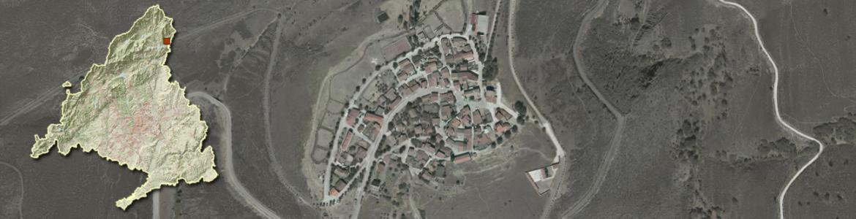 Imagen aérea de El Atazar