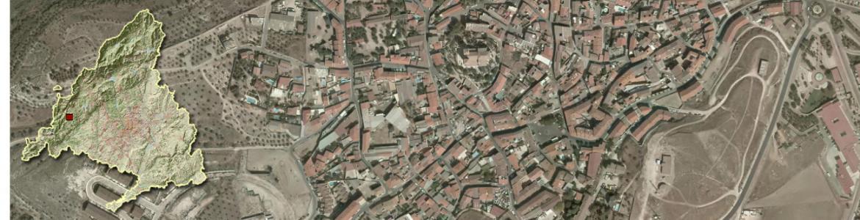 Vista aérea de Resnedillas de la Oliva