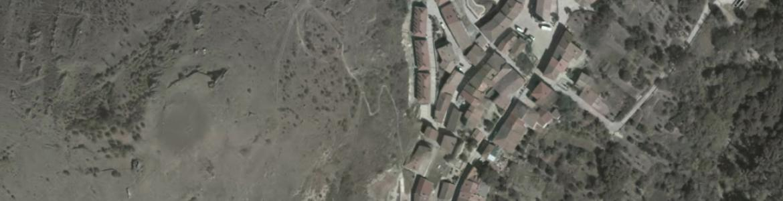 Vista aérea de La Hiruela