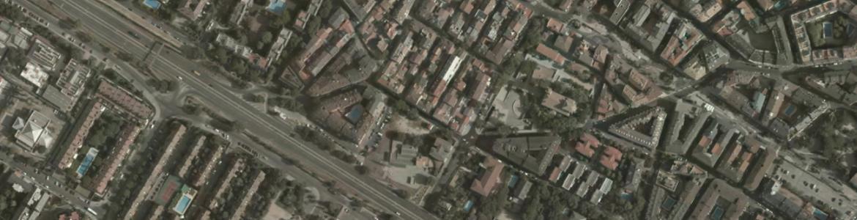 Vista aérea de Las Rozas de Madrid