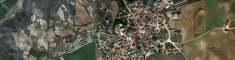 Vista aérea de santorcaz