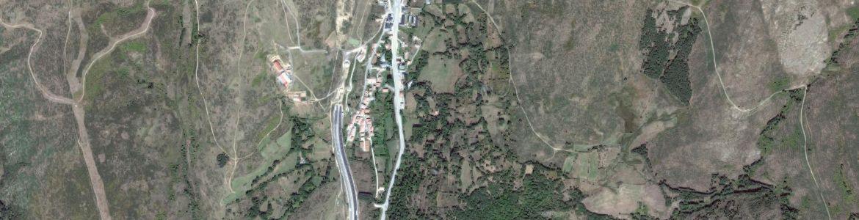 Vista aérea de Somosierra