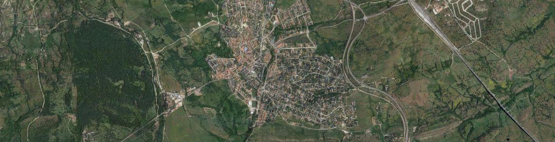 Vista aérea de Soto del Real