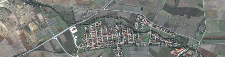 Vista aérea de Torremocha de Jarama