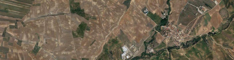 Vista aérea de valdeolmos-alalpardo