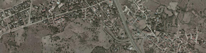 Vista aérea de Lozoyuela-Navas-Sieteiglesias