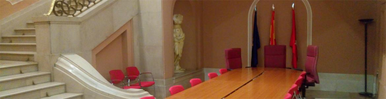 Imagen de la sala de reuniones de la Comisión de Urbanismo